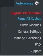 خالی کردن کش پلاگین W3 total cache