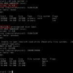 چگونه در لینوکس دیسک پارتیشن ایجاد نماییم؟