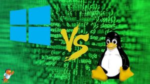 آشنایی با ویندوز و لینوکس