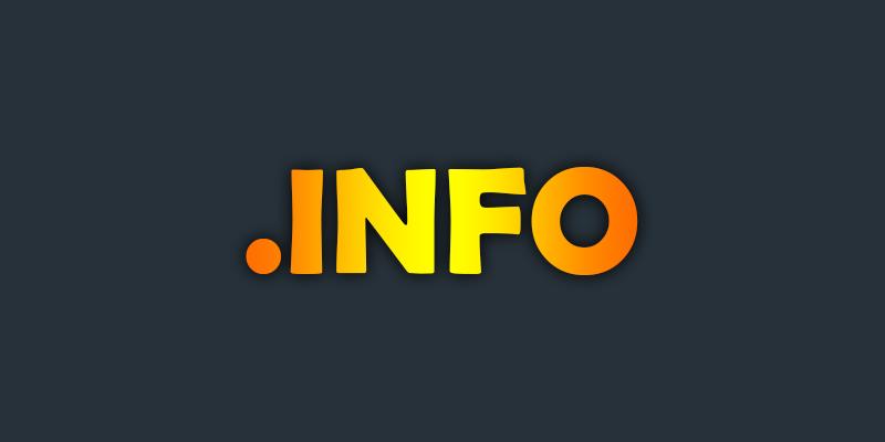 ثبت دامنه .info + اطلاعات کامل درباره پسوند دات اینفو