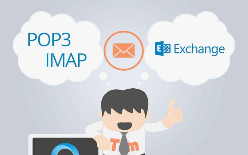 تفاوت Pop3 و IMap و Exchange چیست؟